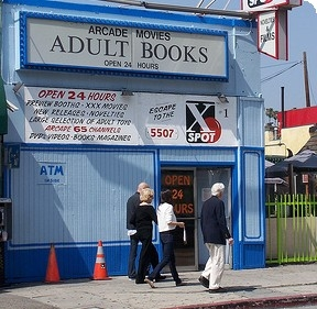 Adult video store locator