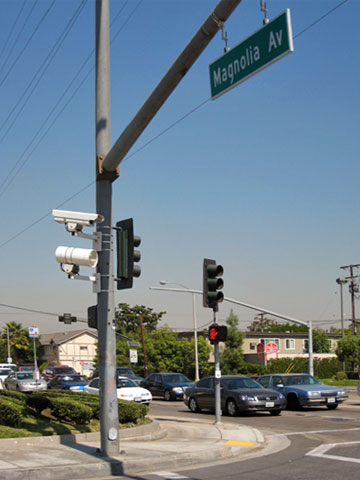 This Photo From Sch2006 Shows A One Of The Cameras And Strobes From A Red  Light Camera System In Fullerton, California.